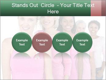 Smiling women PowerPoint Template - Slide 76