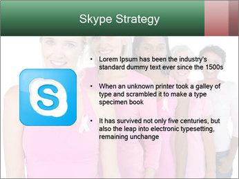 Smiling women PowerPoint Template - Slide 8