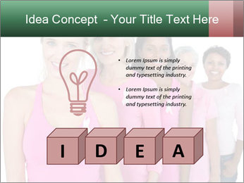 Smiling women PowerPoint Template - Slide 80