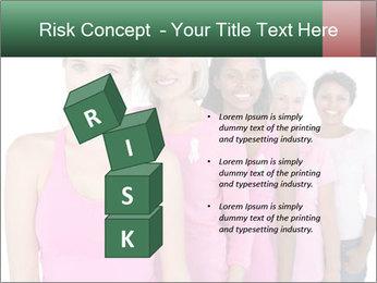 Smiling women PowerPoint Template - Slide 81