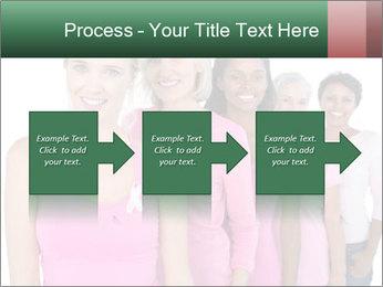 Smiling women PowerPoint Template - Slide 88