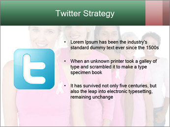 Smiling women PowerPoint Template - Slide 9