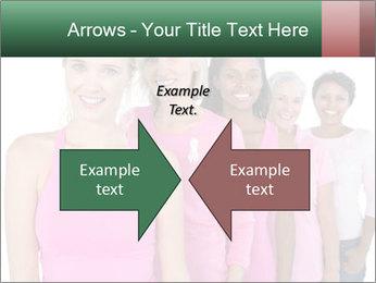 Smiling women PowerPoint Template - Slide 90
