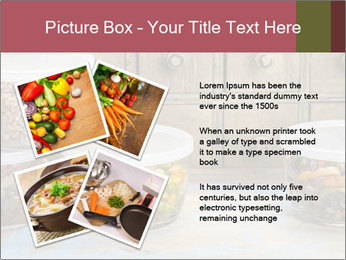 Dinner leftovers PowerPoint Template - Slide 23
