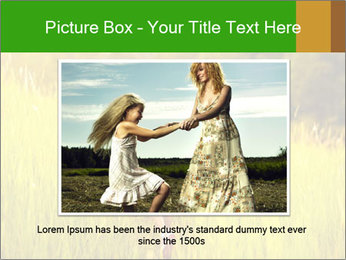 Girl running PowerPoint Template - Slide 15