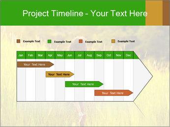 Girl running PowerPoint Template - Slide 25