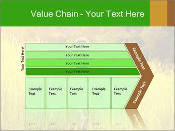 Girl running PowerPoint Template - Slide 27