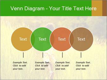 Girl running PowerPoint Template - Slide 32