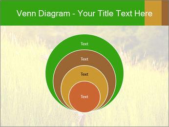 Girl running PowerPoint Template - Slide 34