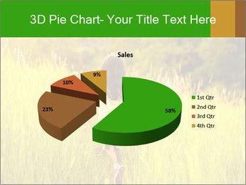 Girl running PowerPoint Template - Slide 35