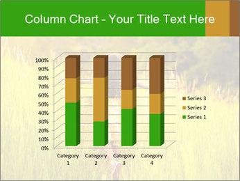 Girl running PowerPoint Template - Slide 50