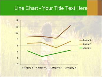Girl running PowerPoint Template - Slide 54