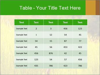 Girl running PowerPoint Template - Slide 55