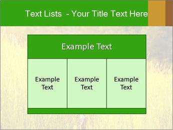 Girl running PowerPoint Template - Slide 59