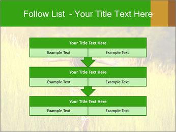 Girl running PowerPoint Template - Slide 60