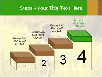Girl running PowerPoint Template - Slide 64
