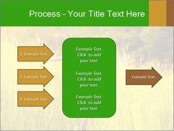 Girl running PowerPoint Template - Slide 85