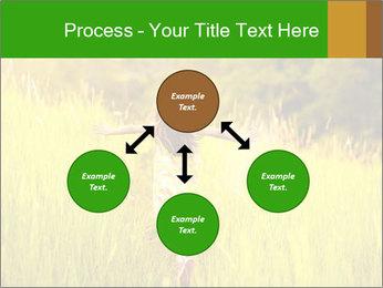 Girl running PowerPoint Template - Slide 91