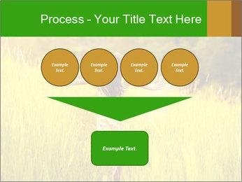 Girl running PowerPoint Template - Slide 93