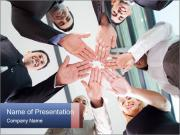 Hands together PowerPoint Templates