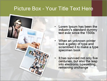The young man works PowerPoint Templates - Slide 17