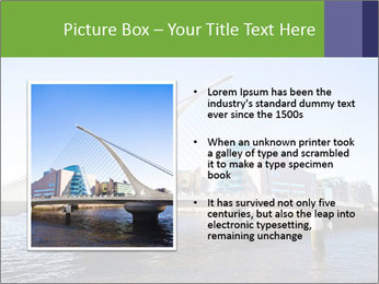 Bridge in Dublin PowerPoint Templates - Slide 13