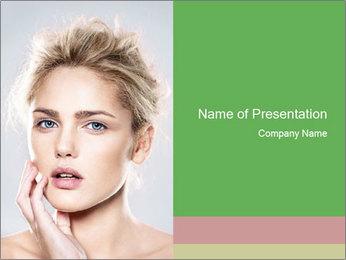 Beautiful model PowerPoint Templates - Slide 1
