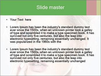 Beautiful model PowerPoint Templates - Slide 2