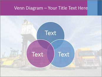 Lift truck loading shipping PowerPoint Template - Slide 33