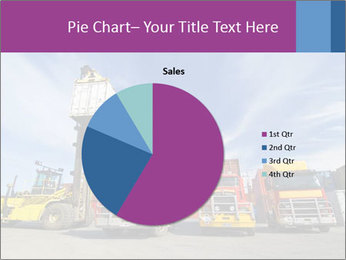 Lift truck loading shipping PowerPoint Template - Slide 36