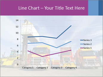 Lift truck loading shipping PowerPoint Template - Slide 54