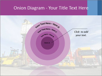Lift truck loading shipping PowerPoint Template - Slide 61