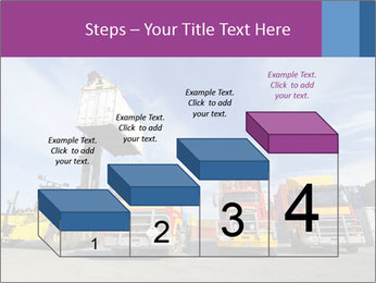 Lift truck loading shipping PowerPoint Template - Slide 64