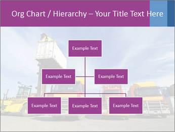 Lift truck loading shipping PowerPoint Template - Slide 66