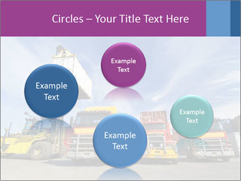 Lift truck loading shipping PowerPoint Template - Slide 77