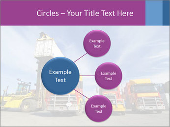 Lift truck loading shipping PowerPoint Template - Slide 79