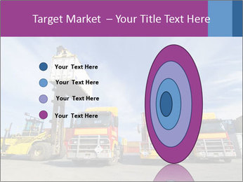 Lift truck loading shipping PowerPoint Template - Slide 84