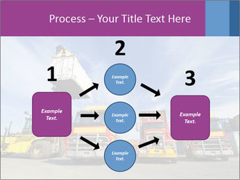 Lift truck loading shipping PowerPoint Template - Slide 92