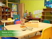 Preschool Classroom PowerPoint Templates