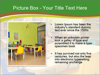 Preschool Classroom PowerPoint Template - Slide 13