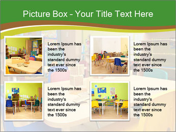 Preschool Classroom PowerPoint Template - Slide 14