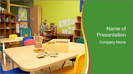 Preschool Classroom PowerPoint Template