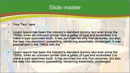 Preschool Classroom PowerPoint Template - Slide 2
