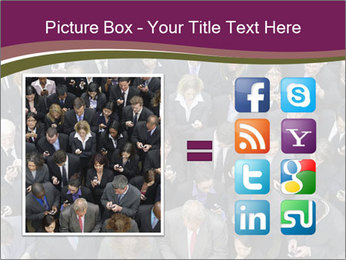 Elevated view PowerPoint Template - Slide 21