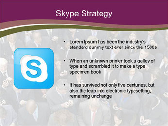 Elevated view PowerPoint Template - Slide 8