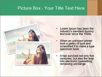 Beautiful girl PowerPoint Template - Slide 20