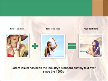 Beautiful girl PowerPoint Template - Slide 22