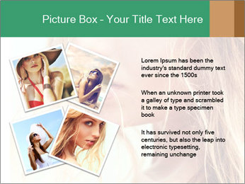 Beautiful girl PowerPoint Templates - Slide 23