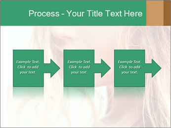 Beautiful girl PowerPoint Template - Slide 88