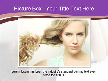 The beautiful young girl PowerPoint Templates - Slide 15